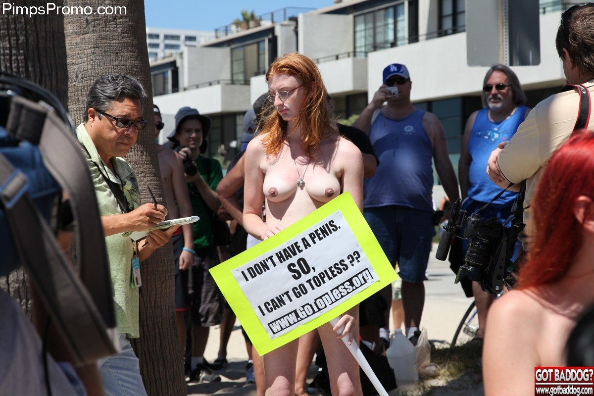 Go topless day venice beachca 2013 1