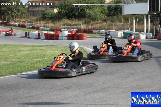 go-karting in Spain